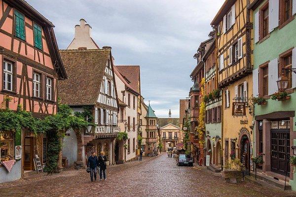 Самые красивые деревни Франции: Риквир