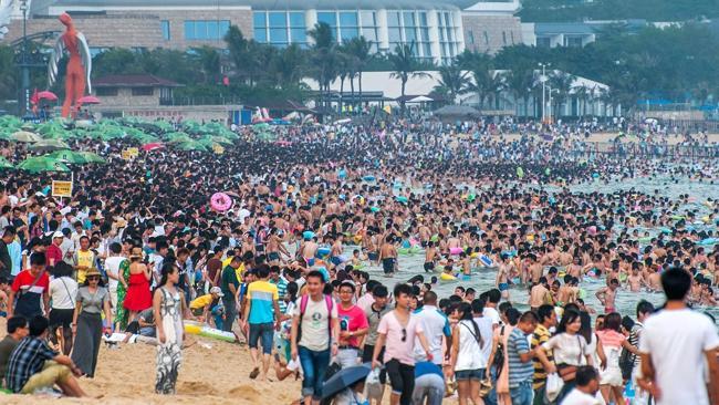 пляжный парк Дамейша в городе Шэньчжэнь