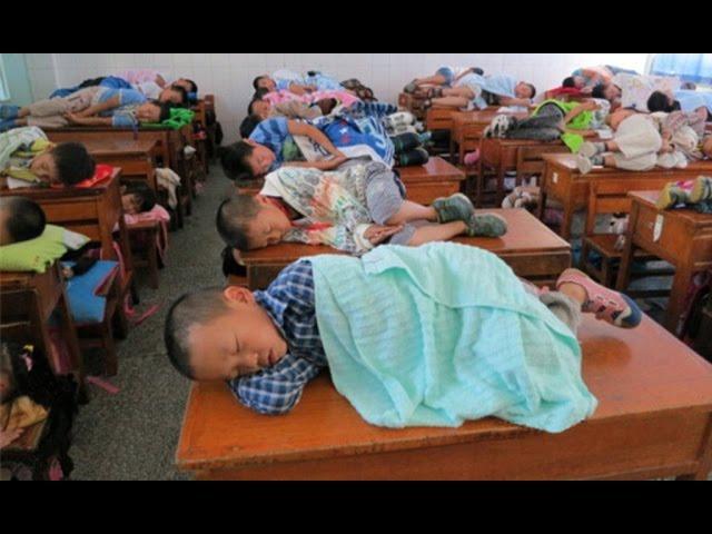 Сон – это национальное достояние в Китае