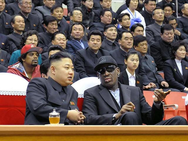 Деннис Родман В Северной Корее