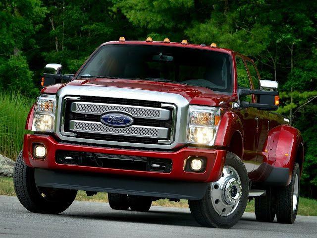 Линейка Ford F-series 2015