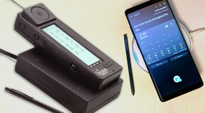 IBM сделала первый смартфон