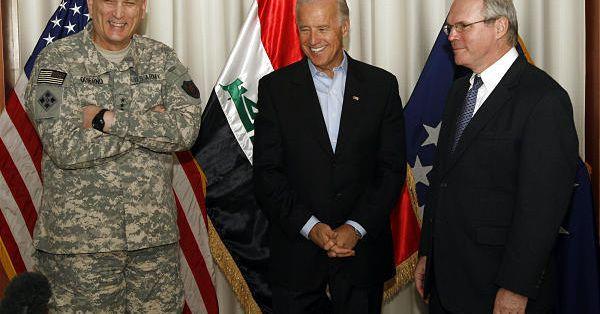 Джо Байден начал свою деятельность в пользу войны в Ираке