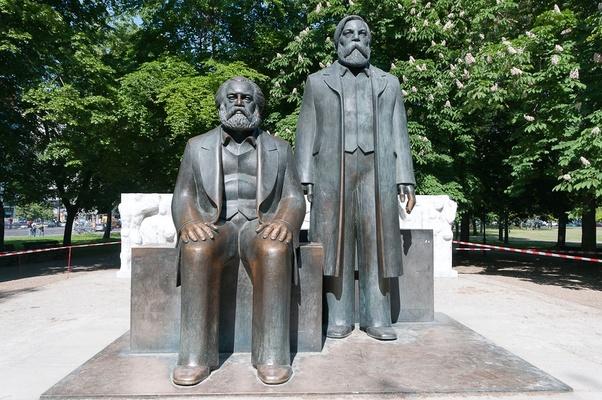 Karl Marx and Engels