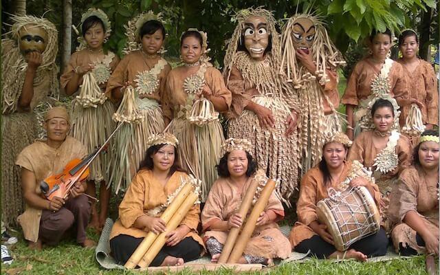 женщины племени Оранг Асли