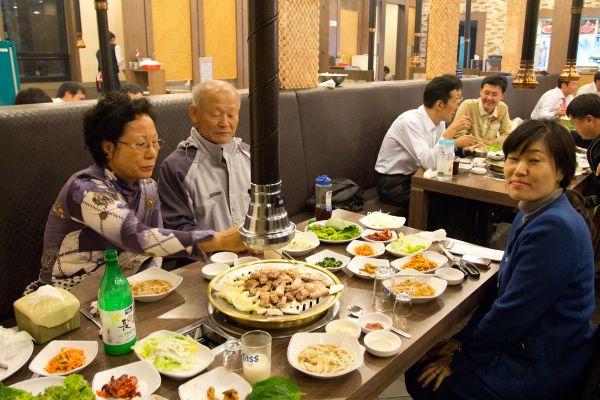 правила еды в Южной Корее