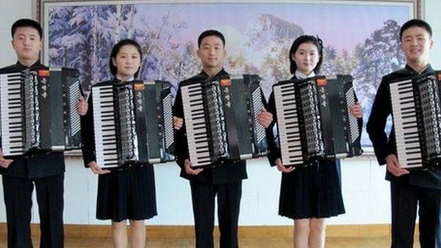 Аккордеоны в Северной Корее