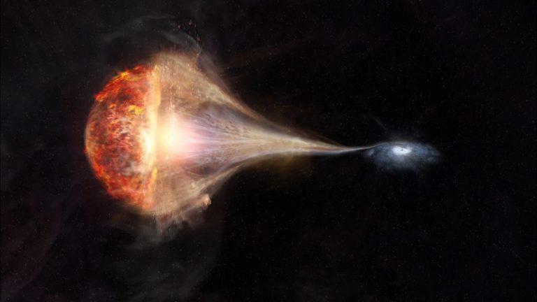 Сверхмассивная черная дыра поглотит Вселенную