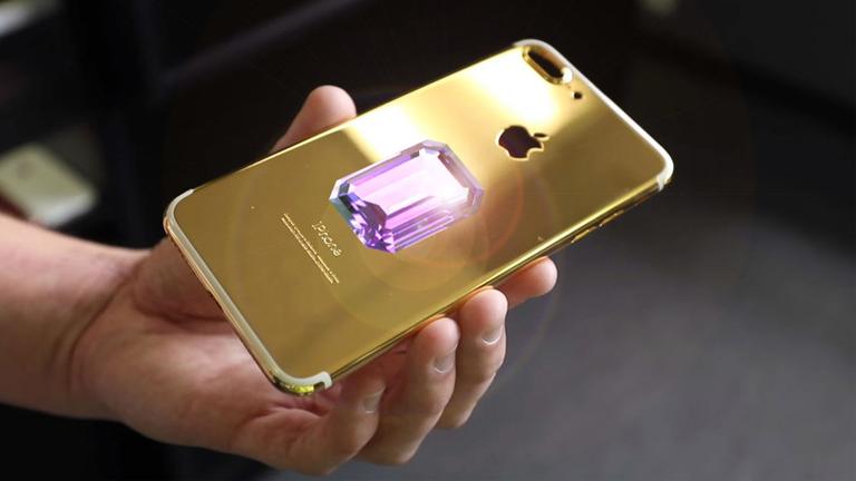 Самый дорогой телефон стоит $45.5 миллионов долларов