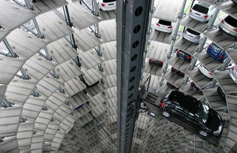 Необычные парковки в Японии