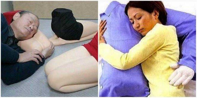 Подушки в виде частей тела в Японии