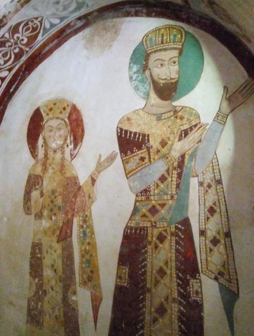Царица Грузии Тамара и Юрий Боголюбский