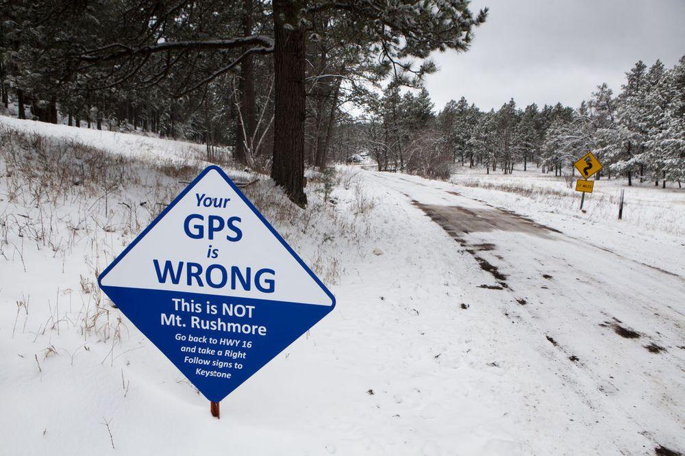 Доверять GPS нельзя