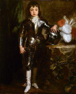 Карл I в детстве