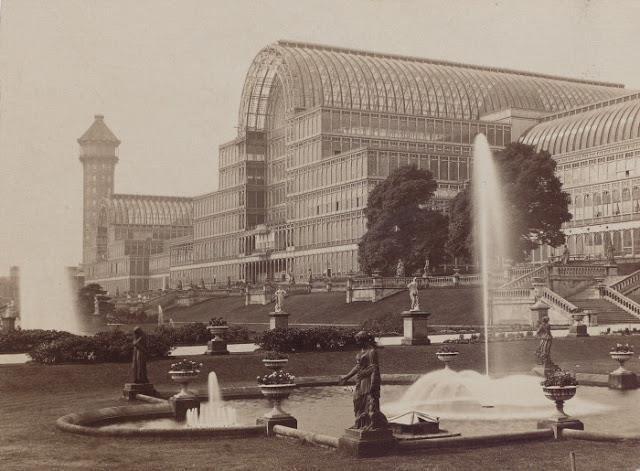 Хрустального дворца в Лондоне