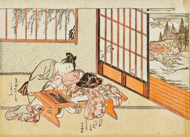 бумажные окна в Азии