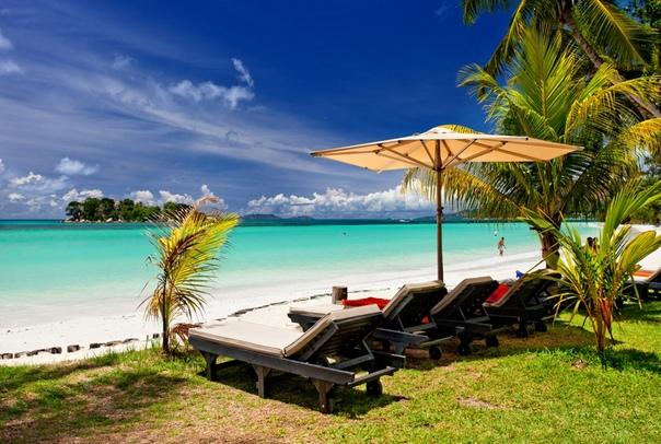 на Сейшельских островах