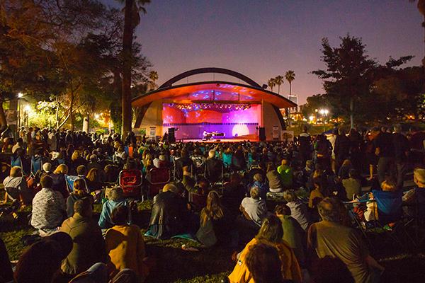 Levitt Pavilion концертная серия