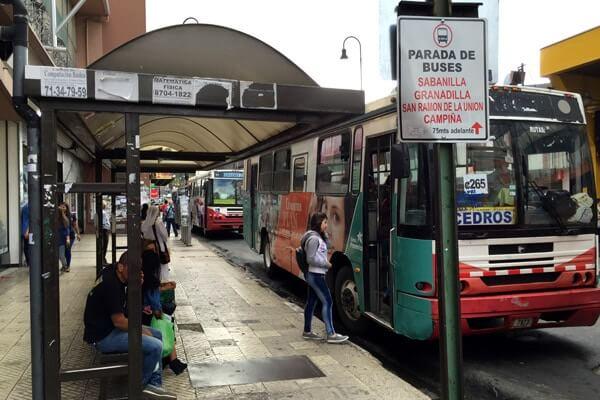 Неудобный транспорт Коста-Рики