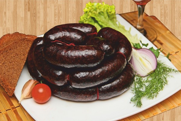 Кровавый суп и кровяная колбаса
