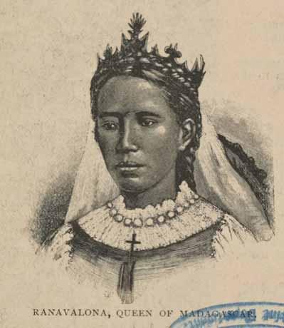 Королева Мадагаскара Ранавалона I
