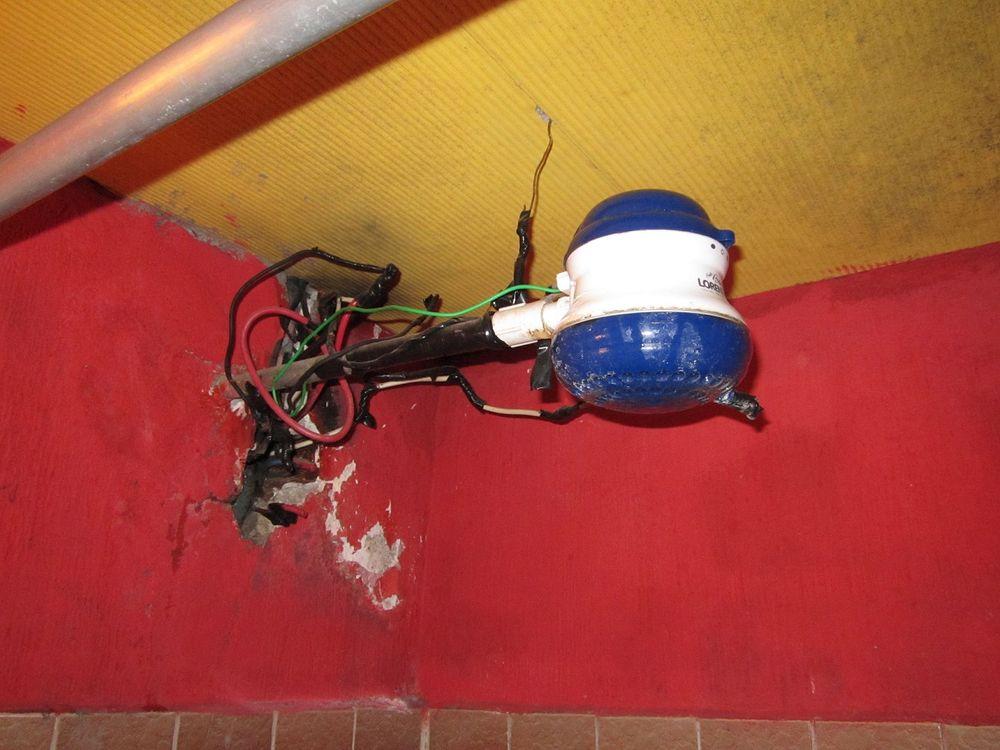 душ в Коста-Рике