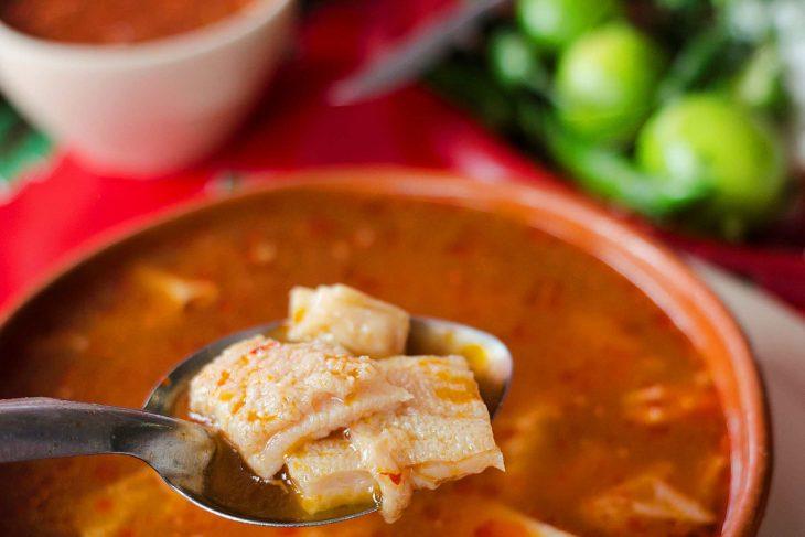 Суп из рубца и требухи