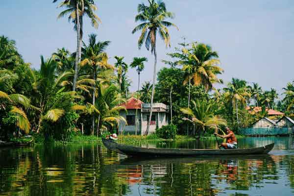Аллеппи, Керала, Индия