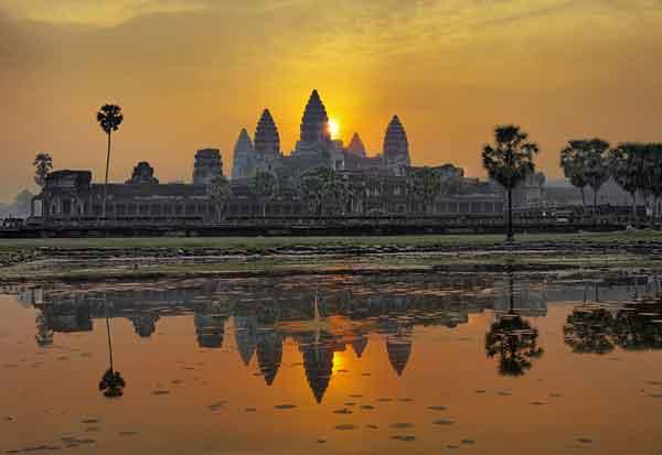 Храм Ангкор-Ват, Сиемреап, Камбоджа