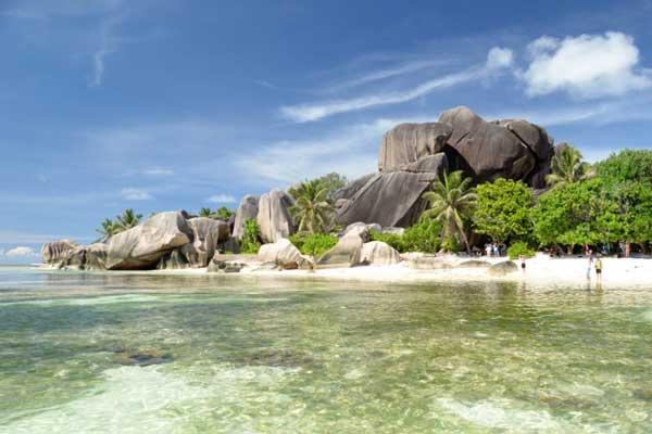Anse Source d'Argent, остров Ла-Диг, Сейшельские острова