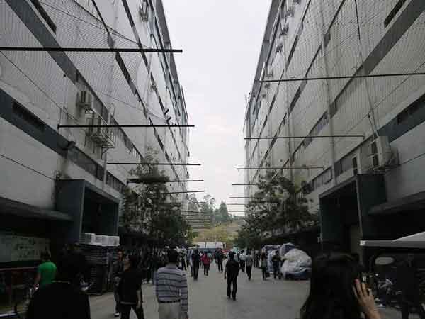 завод Apple в Китае