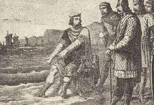 датский король Кнут
