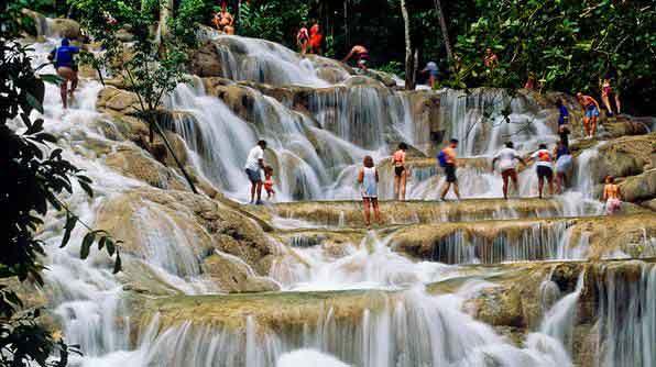 Водопады Даннс-Ривер, Ямайка
