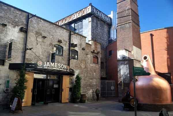 Jameson Whiskey Distillery, Дублин