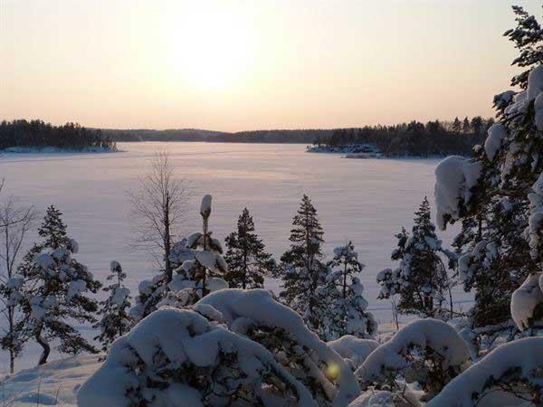 Озеро Сайма в Юго-Восточной Финляндии