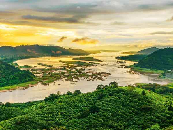 Река Меконг, Таиланд