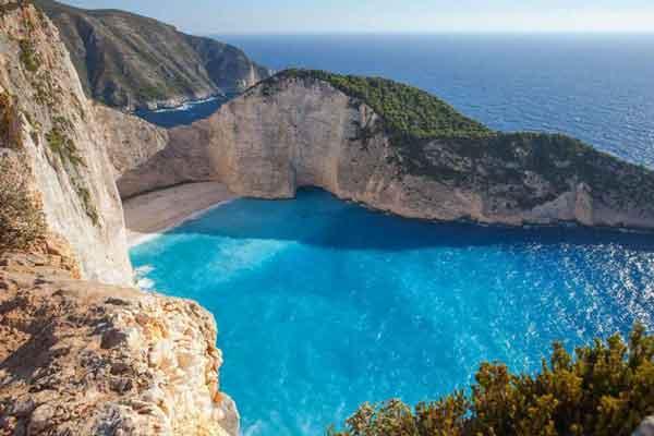 Пляж Смагглерс Коув (Бухта контрабандиста), Греция