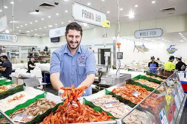 Рыбный рынок Сиднея