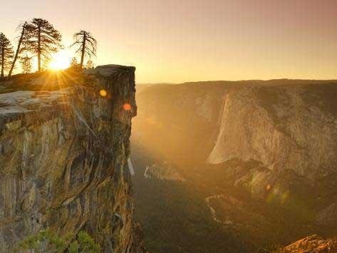 Тафт-Пойнт, Йосемитский национальный парк, Калифорния, США