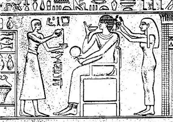 Стрижка волос в Египте