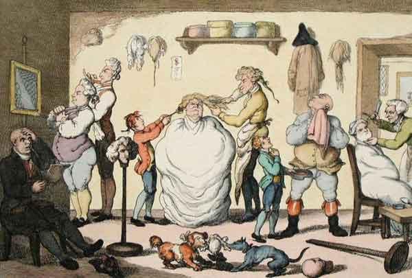 цирюльники в Средние века