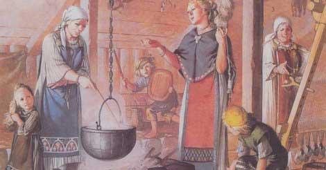 Женщины викингов