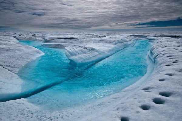 Голубая Река, Гренландия