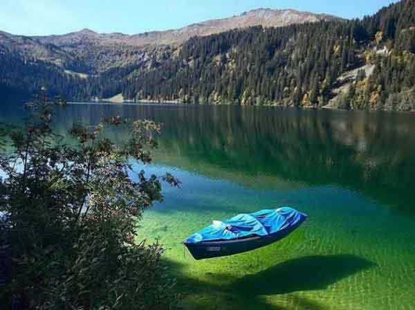 Голубое Озеро, Южный Остров, Новая Зеландия