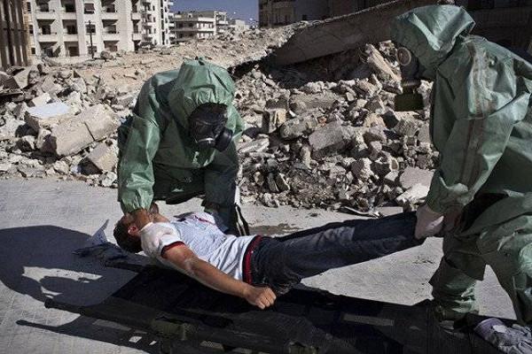 химическая атака Сирии