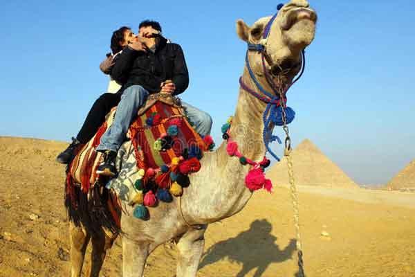 Египет поцелуй