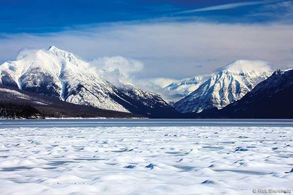 Озеро Макдональд в округе Флэтхед, штат Монтана, США