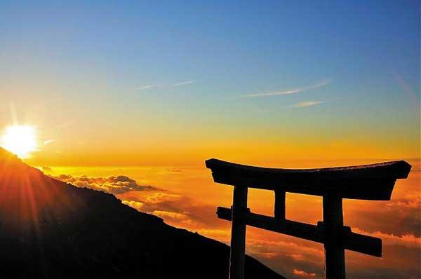 Гора Фудзи, Остров Хонсю, Япония