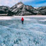 Самые красивые замерзшие озера в мире