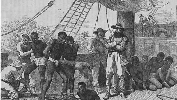 Английская работорговля